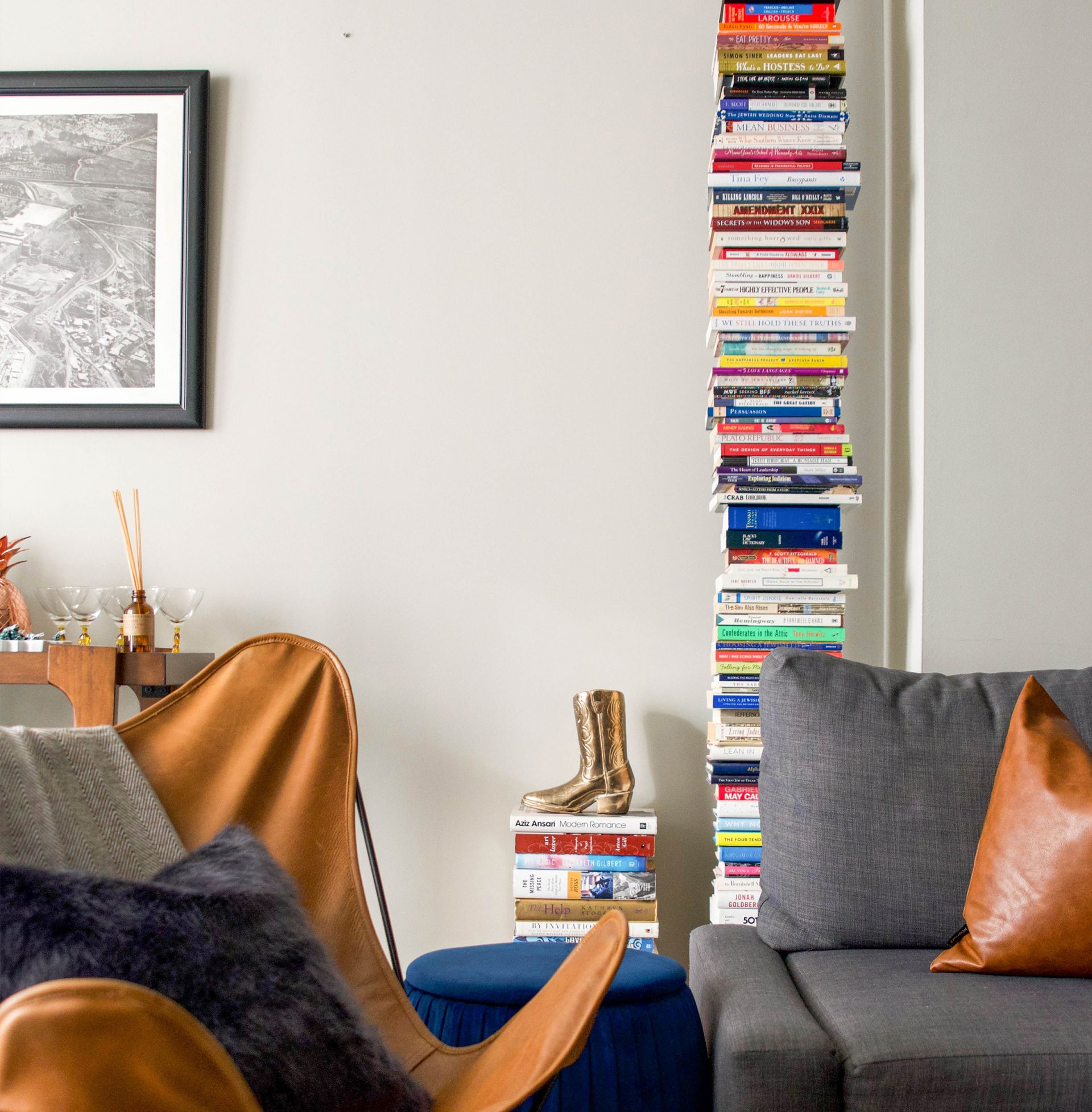 Home FAQ: What is the Bookcase that Looks like a Stack of Books?