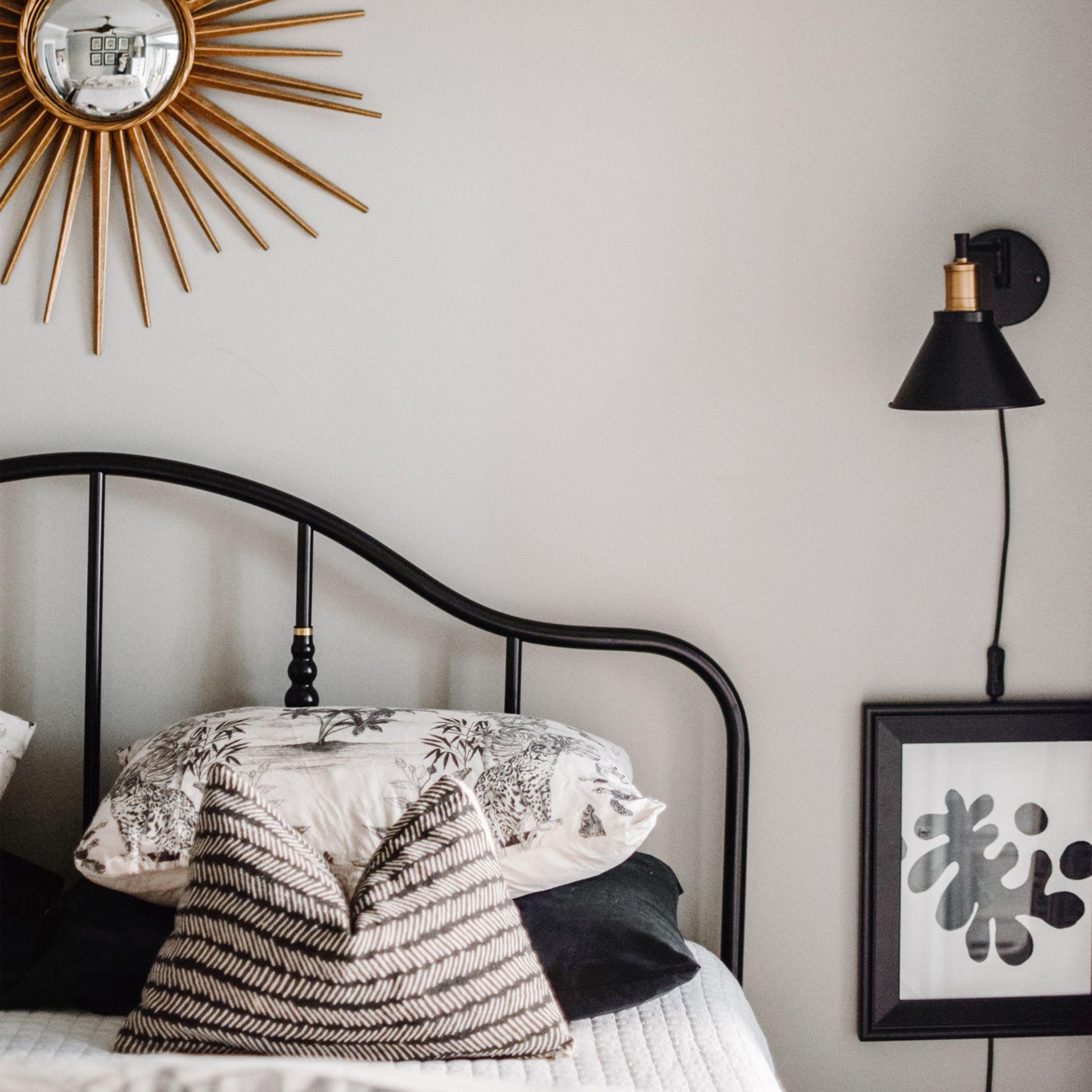 Our New Black Steel Bed Bedroom Refresh Ikea Sagstua Bed Review Heather Bien